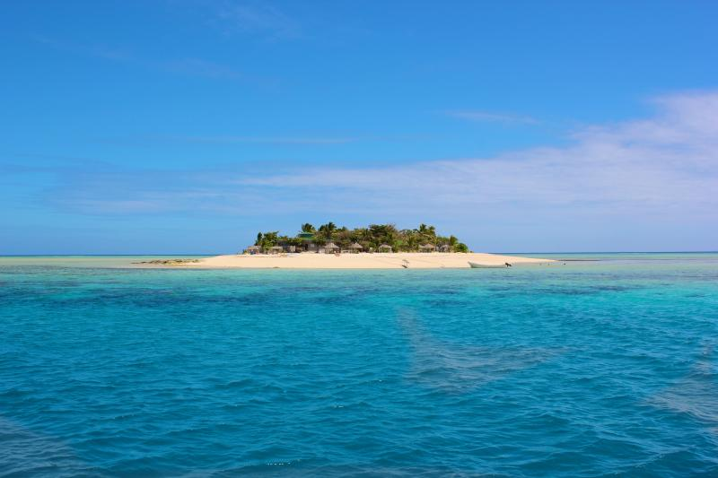 Stunning Tivua Island only 15 mins by boat away. Boat dock only 5 mins walk away.