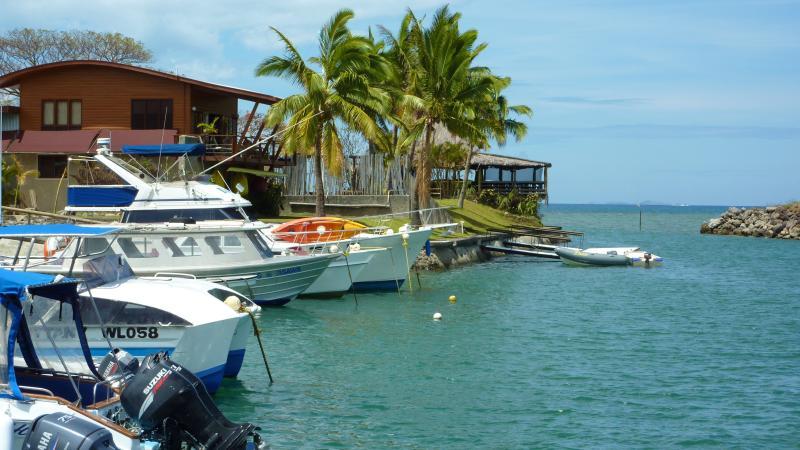 Vuda Marina and Restaurant. Only 2 mins drive