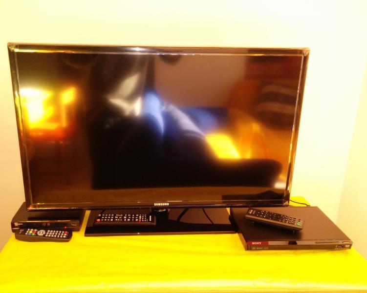 Sat-TV mit DVD-player