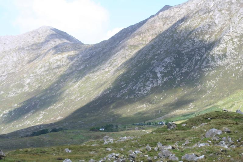 The Glencoaghan Horseshoe, Twelve Bens Mountains