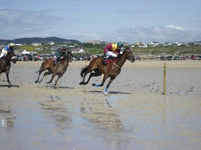 The Omey Races, Omey Strand