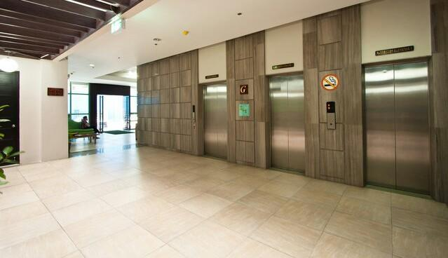 1 service elevator and 2 passenger ones that leads you to your perfect sanctuary.