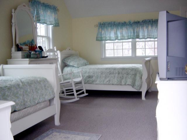Bedroom with its own sun porch