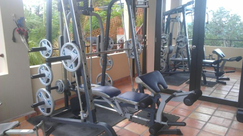 Fitness Room al fresco for all guests