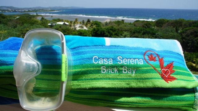 Welcome Bienvenidos Bienvenus Bem-vindos a Casa Serena Brick Bay Roatán!