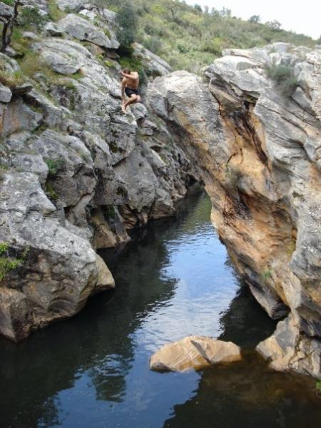 Pego de Pias is a great place for swimming and picnicking 15 min drive of the house