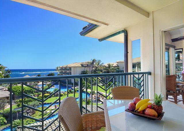 OCEAN & POOL VIEW D408 - Beautiful Penthouse **AC** Resort Pool & Restaurant, location de vacances à Kauai