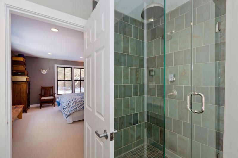 You will feel like you're in a spa in this luxurious bathroom!