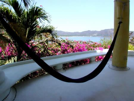 hammock,  upper suite with patio and Ocean View