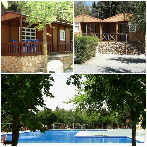 Bungalow 2/4 people with kitchen and bathroom close to Granada., vacation rental in Churriana de la Vega