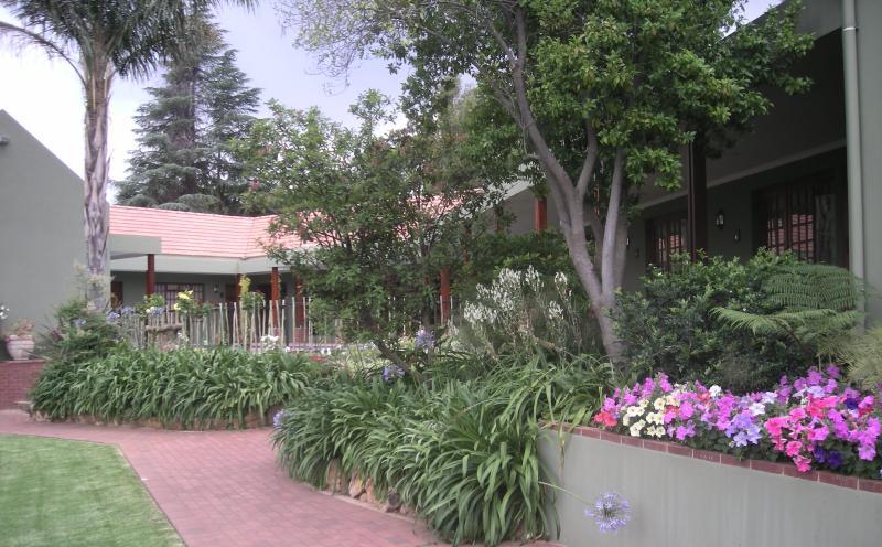 Habitaciones en jardín