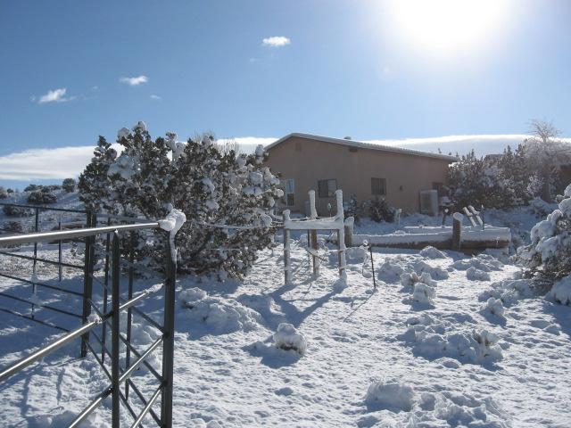 Winter snowfall Feb. 4, 2014