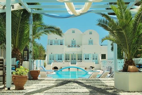 Aeolis Santorini, holiday rental in Agios Georgios