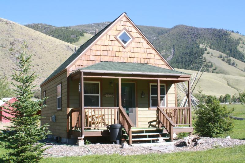 Victorian Home, Cabins, Salmon River of Idaho, alquiler de vacaciones en Salmon