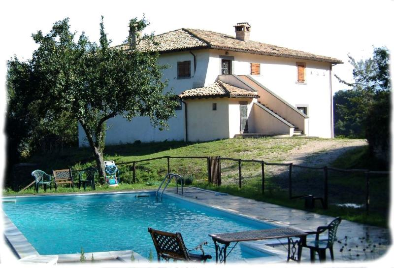Welcome to LE GROTTE! This is the villa's main house with the pool. Enjoy and relax!