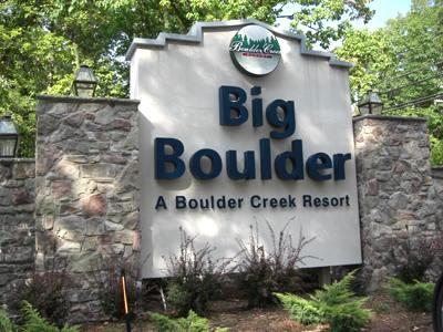 Entance to Big Boulder/ Blue Herron