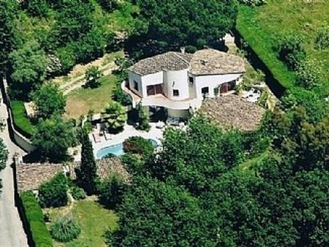 Villa from air