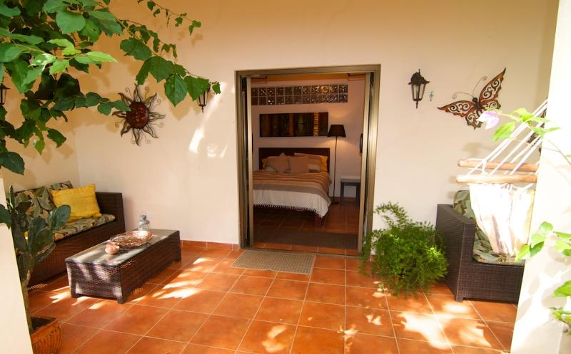 Entrance to Terrace Bedroom