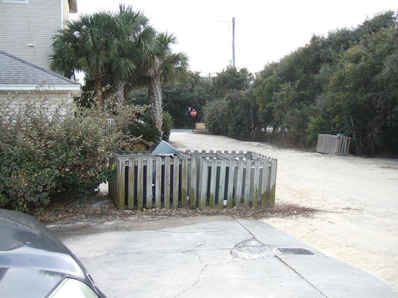 View from driveway to 30A !