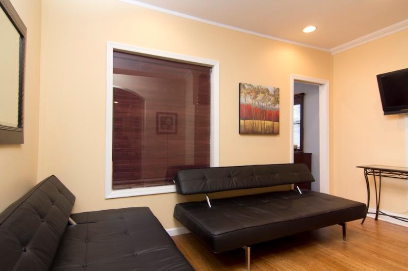 Living Room with sleep sofas