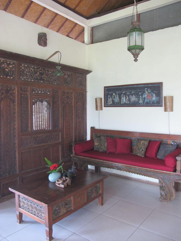 parte del salotto aperto