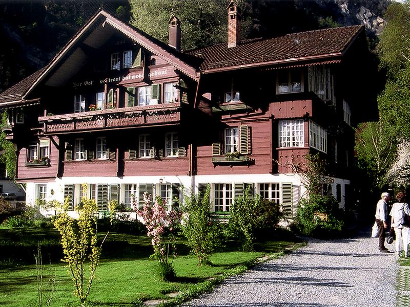 CityChalet historic Apartment, vacation rental in Bernese Oberland