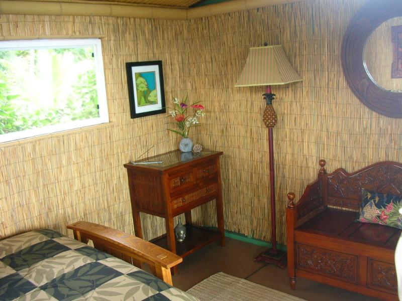 L'intérieur cosy de la mangue Grove négliger peut accueillir confortablement deux