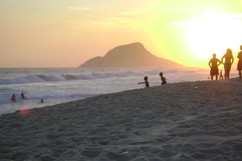 Nearest beach - posto 9 Recreio (10 km)