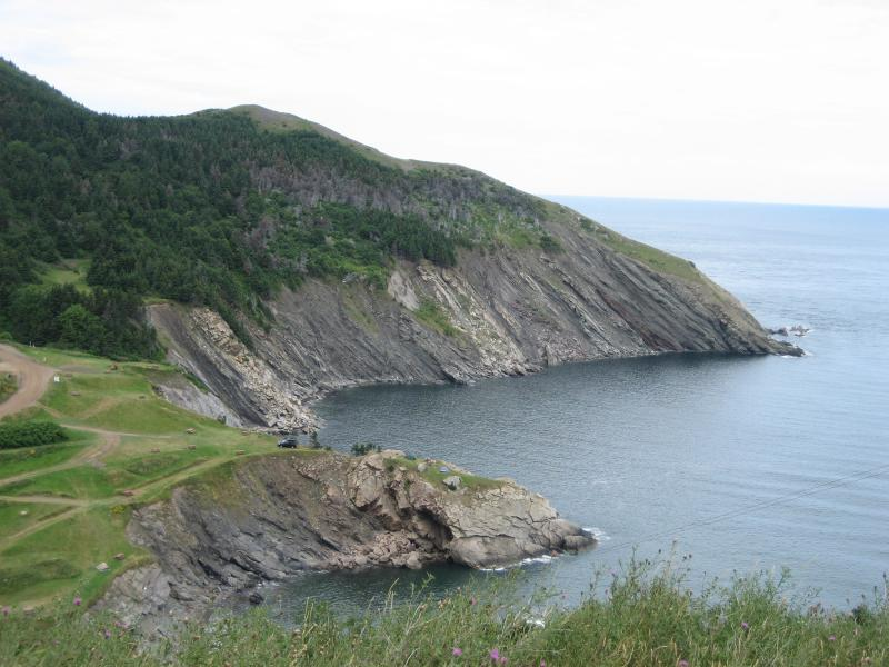 Cabot Trail overlook