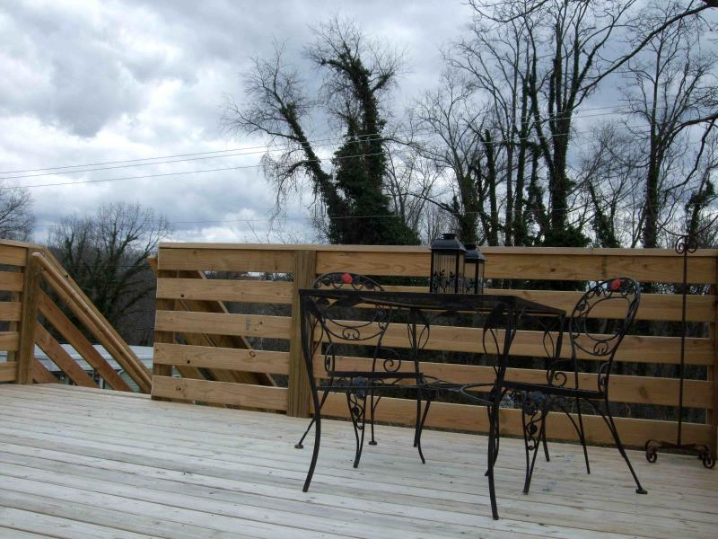 Outdoor Rear Deck