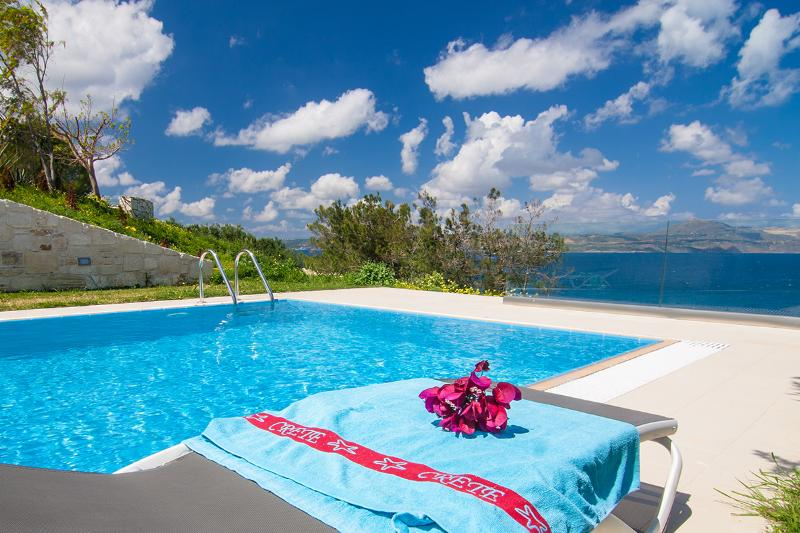 Stunning views from the pool