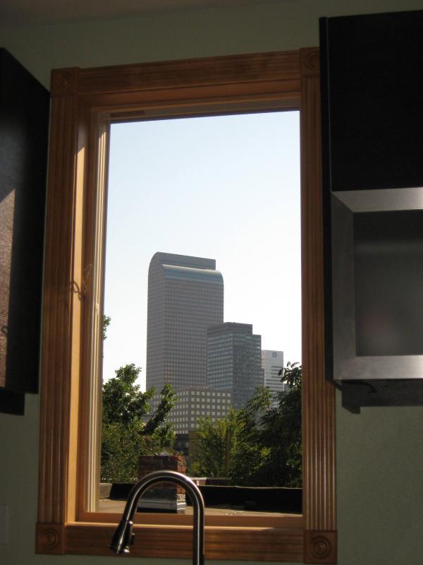 Centro de la ventana de cocina