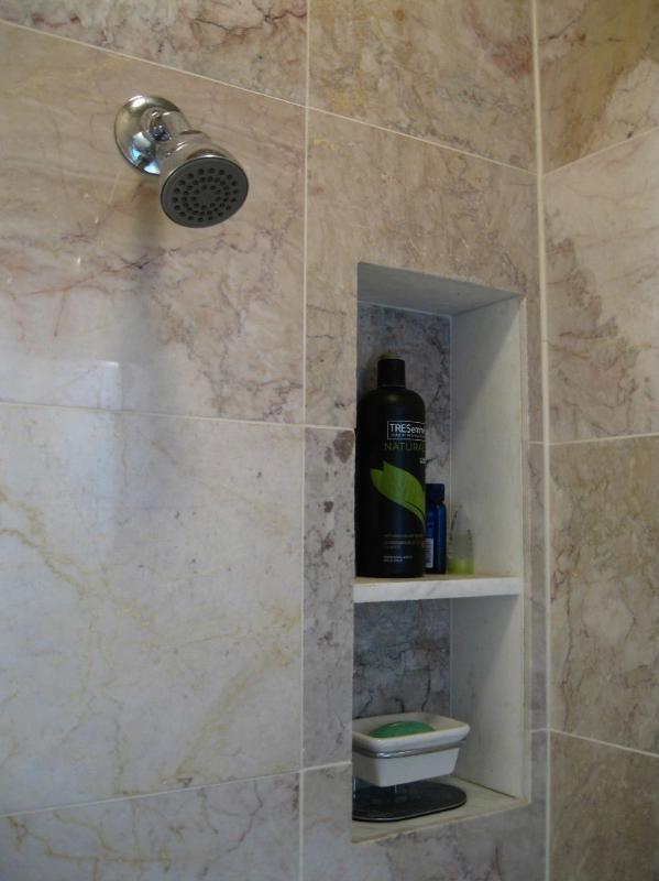 Baño ducha nicho