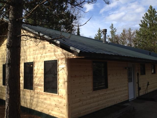 New log siding, roof and windows in 2012