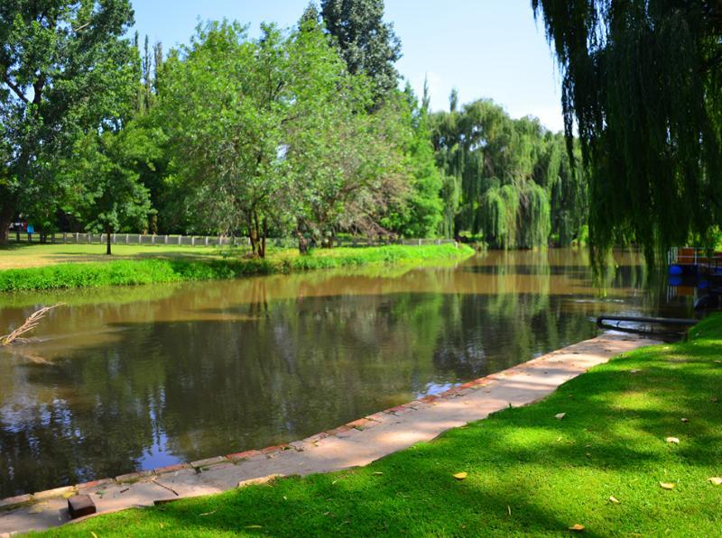 The Klip River, on your doorstep