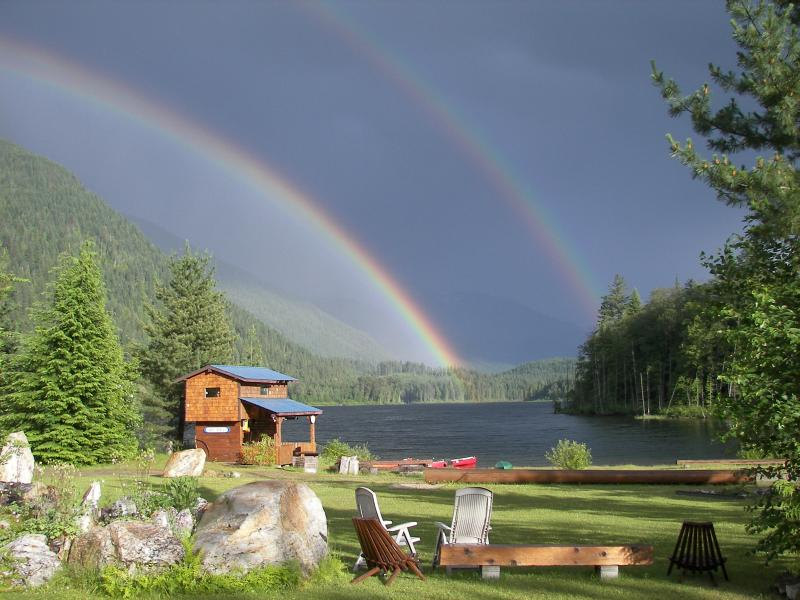 Rainbow on Griffin Lake