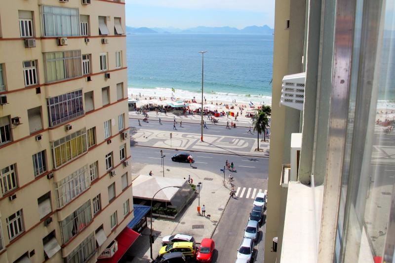 View from the apartment windows