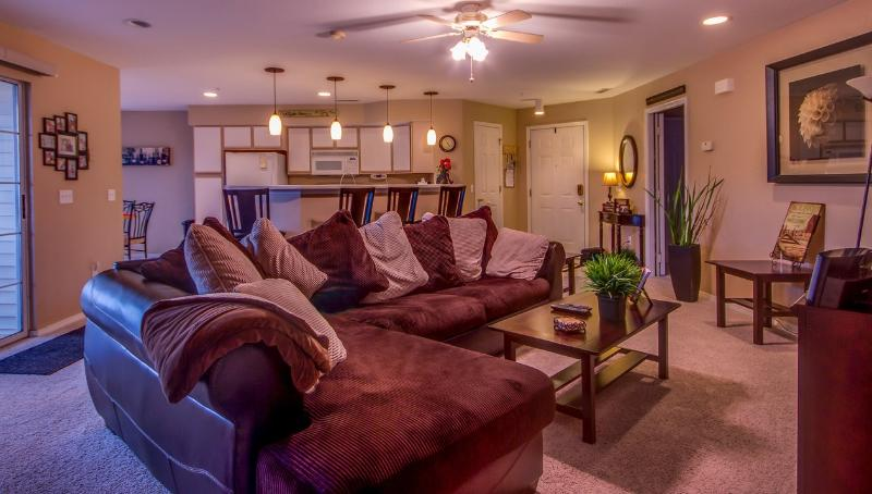 Living Area - Large spacious comfy couch