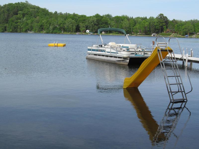 slide, pontoon, raft