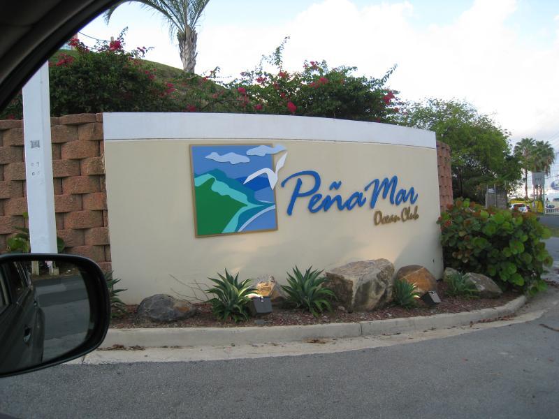 Penamar Ocean Club Main Entrance