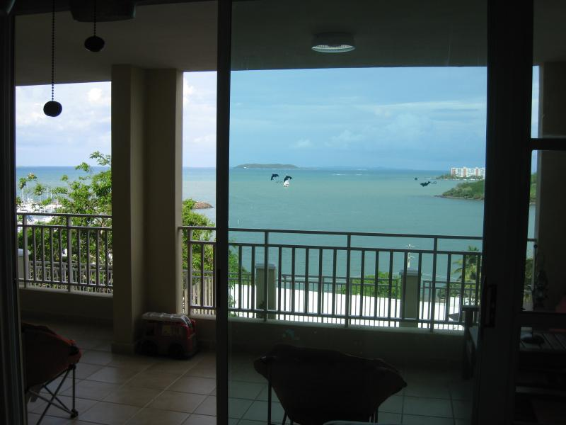 Relaxing View while seated at Living Area, great meeting place to chat with your loved ones...