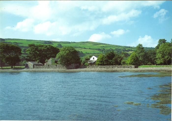 View of Mulroe House and Studio from the Sea