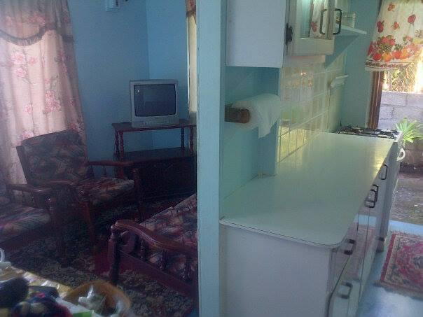 View of Kitchen and Living room