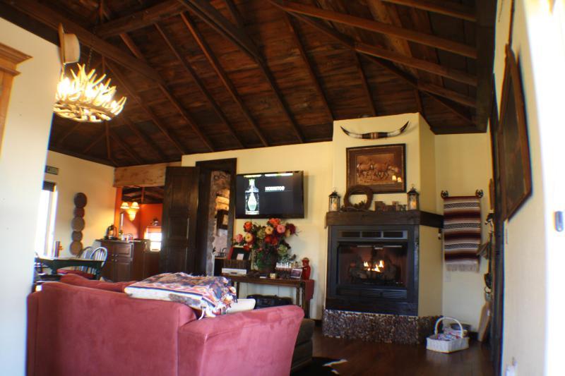 Large & Luxurious - 47' Flat Screen TV & 3' Fireplace