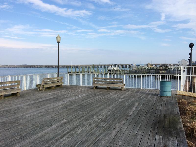 Assateague House  Fishing Pier next to pool!