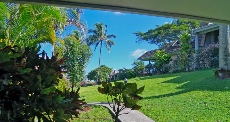View from the front lanai