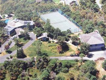 Vue aérienne de la Sociedade de Villa