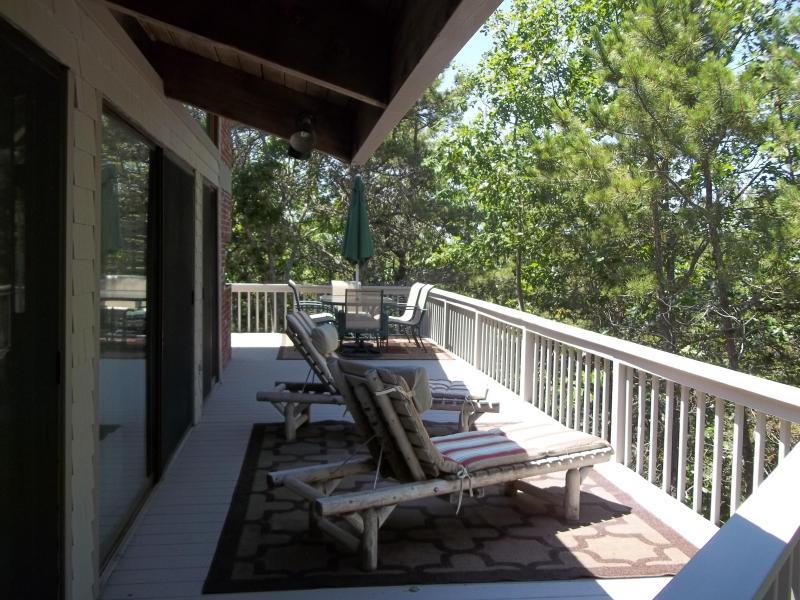 Guest house decks