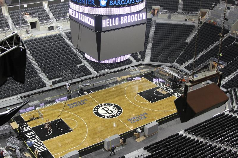Barclay Center, interior
