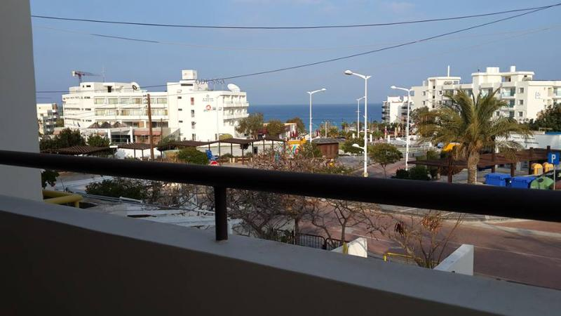 Sea view from the apartments' balcony right in the centre of PROTARAS!!!